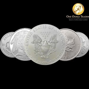 1 oz Silver Coins and Rounds